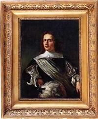 portrait de jeune homme by willem verschwer
