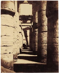 thebes, karnak by henry cammas