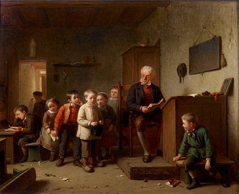 the classroom by theodore bernard de heuvel