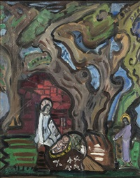 the holy family by evie hone