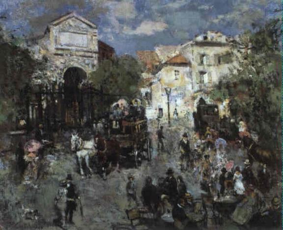 scène du vieux paris by vladimir litvinienko