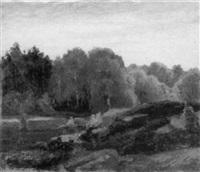 frühling finse-norwegen by alfred hellberger