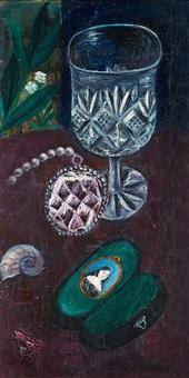 smycken och kristaller (jewlery and crystalls) by hilding linnqvist