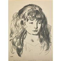 sketch of ann by george wesley bellows