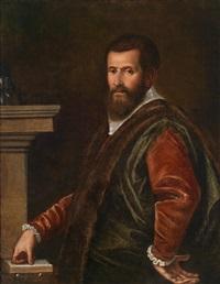 bildnis eines edelmannes by domenico tintoretto