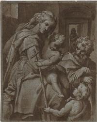 la sainte famille et saint jean-baptiste by orazio samacchini