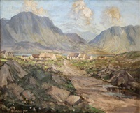cottages in connemara by rowland hill