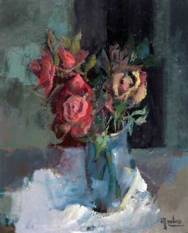 Unas Rosas By Luis Mastro On Artnet