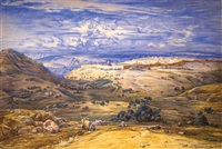 jerusalem by ernst paul hildebrandt