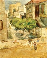figures in musrara, jerusalem by miron sima
