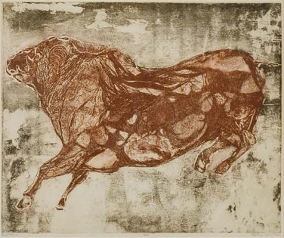 toro rojo by betye saar