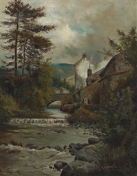 landscape by adelaide haslegrave