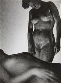 nude composition by heinz hajek-halke
