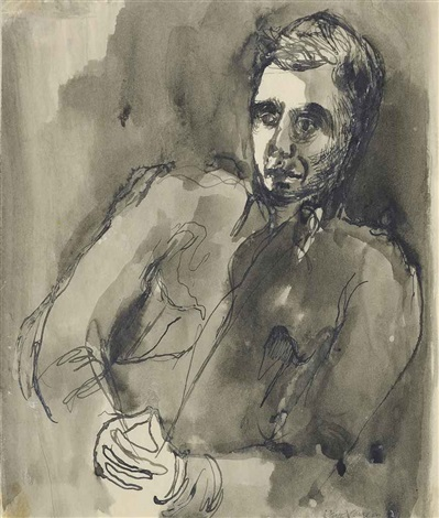 portrait of a soldier by keith vaughan