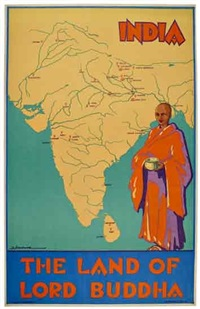 india/the land of lord buddha by dorothy newsome