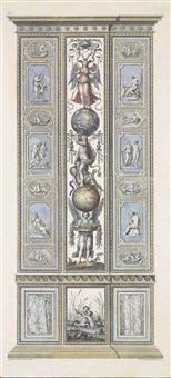 loggie de rafaele nel vaticano, vol. iii (set of 12) (after ludovico teseo) by giovanni volpato