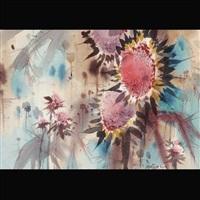 sunflowers by jade fon