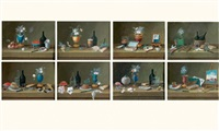 nature morte (+ 7 others; 8 works) by paul lelong
