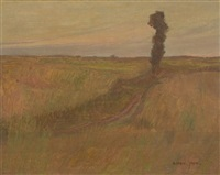 paysage by edmond françois aman-jean