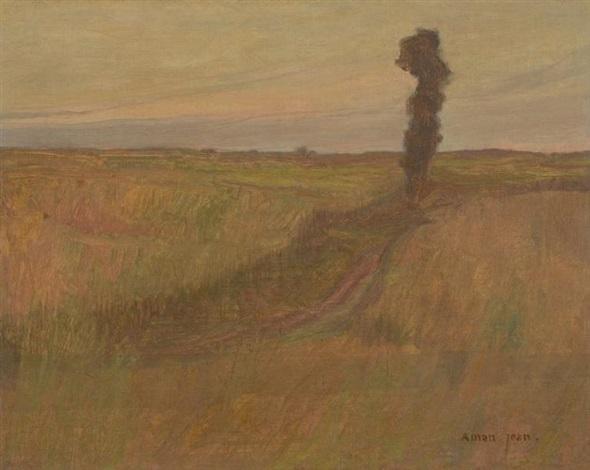 paysage by edmond françois aman jean