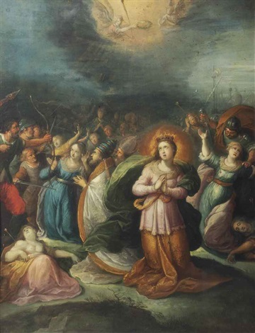 the martyrdom of saint ursula by frans francken the younger