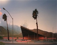 gas station, palm springs, ca by robert polidori