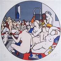 the turkish bath by robert ballagh