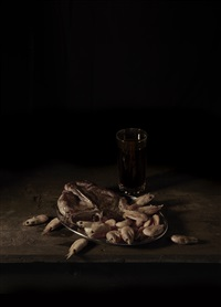 last meal on death row, texas (martin vegas) by mat collishaw