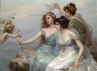 die drei grazien by edouard bisson