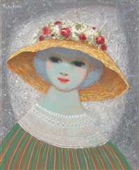 girl in hat by pelle aberg