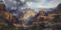 the grand canyon of the colorado by thomas moran