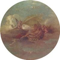les anges recouvrant la nudité by alexis joseph mazerolle
