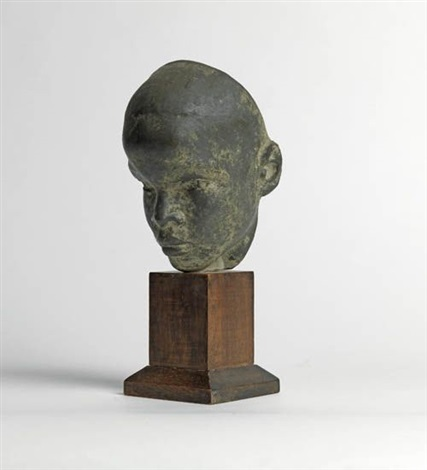 head of boy black boy by richmond barthe