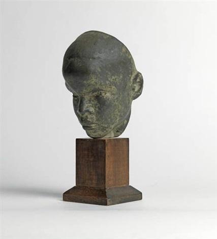 head of boy black boy by richmond barthe