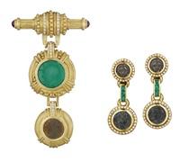 set of jewelry (3 works) by ellagem