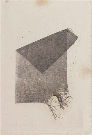 torn folded scrap of crape another 2 works by william henry fox talbot