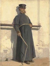 a coachman by georg nicolaj achen
