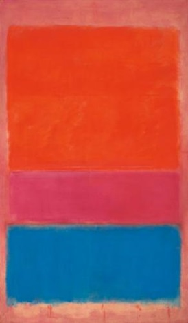 no 1 royal red and blue by mark rothko