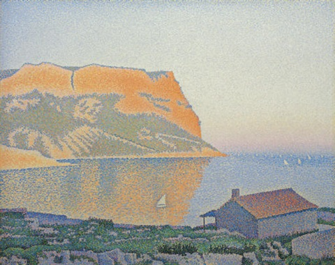 cassis cap canaille by paul signac