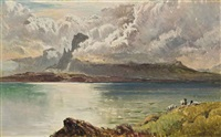clouds breaking over the isle of skye by sidney richard percy