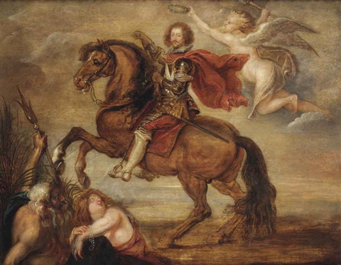 an equestrian portrait of george villiers 1st duke of buckingham 1592 1628 by sir peter paul rubens