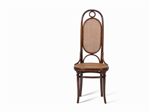 Michael Thonet, 8 Chairs Model No. 17, C. 1862 By Michael Thonet