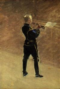 trumpetare falk by jonas åkesson