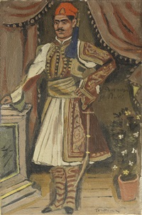 evzone by yannis tsarouchis