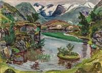 landskap by nikolai johannes astrup