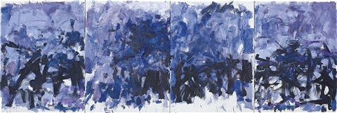 the lake in 4 parts by joan mitchell