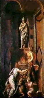 sacrificio a giove by lorenzo leonbruno