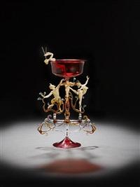 wine goblet by lucio bubacco