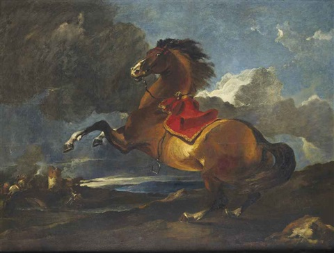cheval se cabrant by sir anthony van dyck