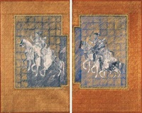 untitled (diptych) by zahoor ul akhlaq